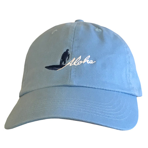 BOTTOM TURN Lt. Blue Dad Hat