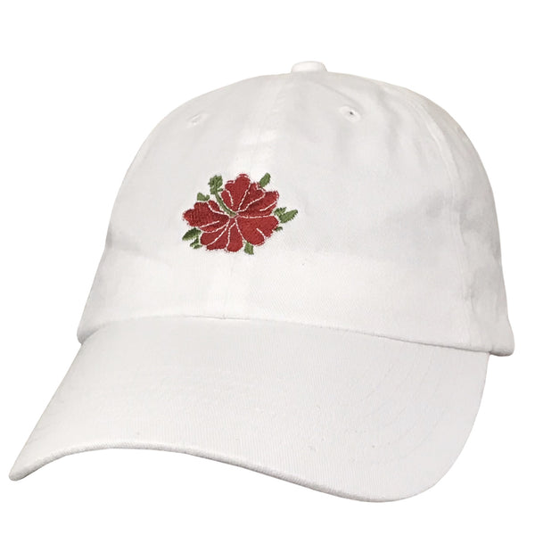 HIBISCUS White Dad Hat