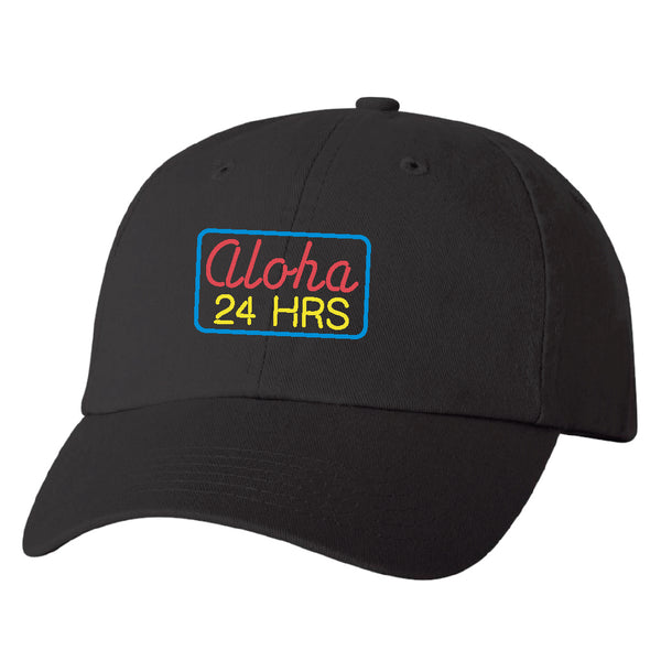 ALOHA 24 Black Dad Hat