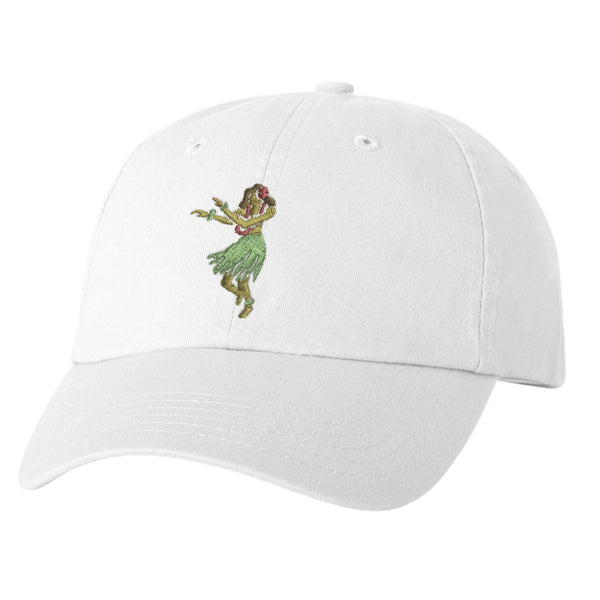 HULA White Dad Hat