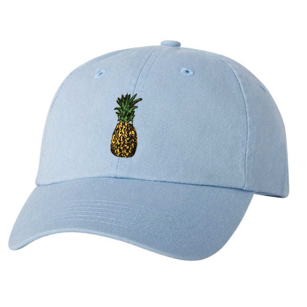 PINEAPPLE Lt. Blue Dad Hat