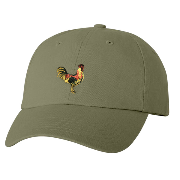 ROOSTER Olive Dad Hat