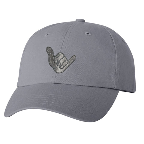 SHAKA Gray Dad Hat
