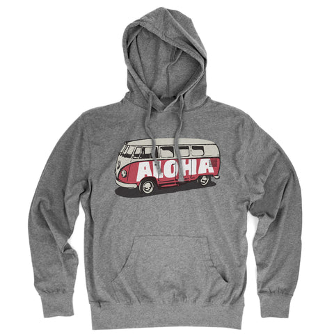 BUS Heather Gray Jersey Hoodie