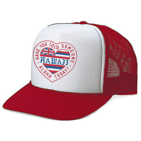 TODAY Red Adult Trucker