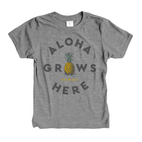 GROWS HERE Kid's Tee