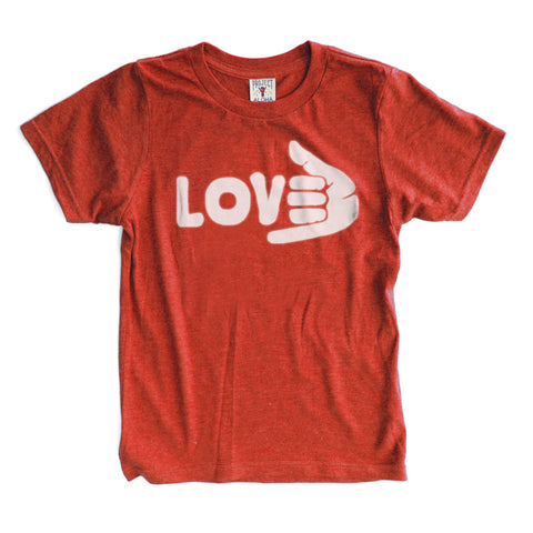SHAKALOVE Red Kids Tee