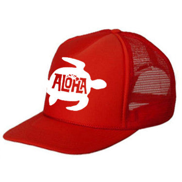 HONU Red Kids Trucker