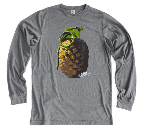 GRENADE Gray Long Sleeve