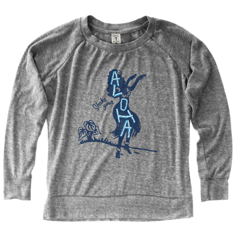 SHAKE IT Gray LS Jersey