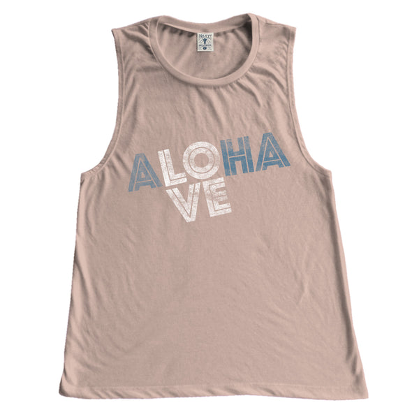 LOVE Peach Muscle Tee
