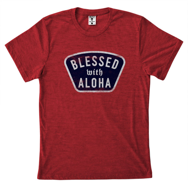 BLESSED Red Tee