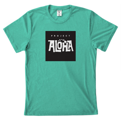 POHAKU BOX Sea Green Tee