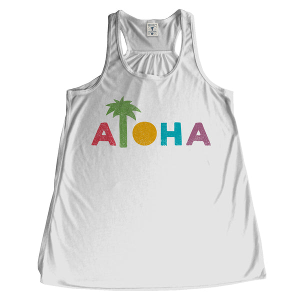 COLOR PALM White Tank