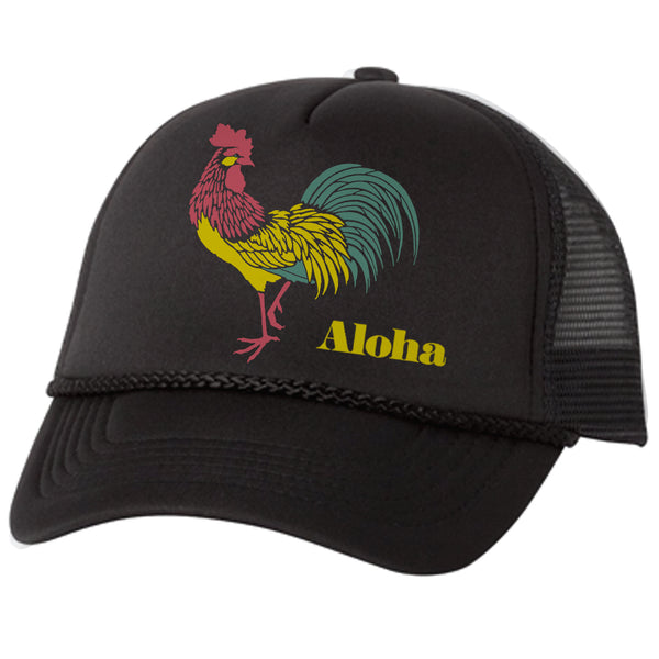 DARK ROOST Black Adult Trucker