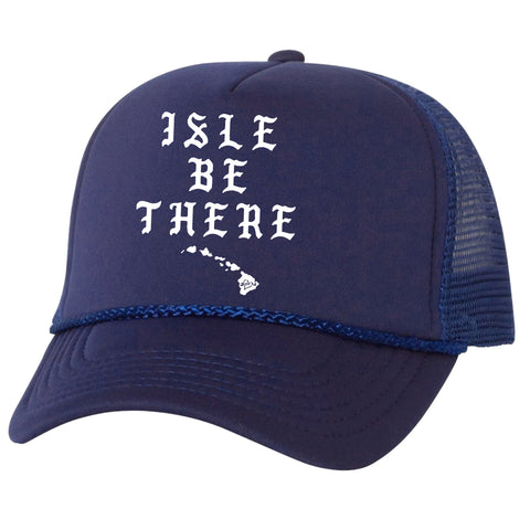 ISLE BE Navy Adult Trucker