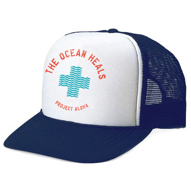 HEALS Navy Adult Trucker