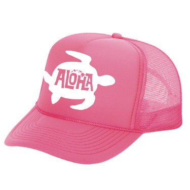 HONU Pink Adult Trucker