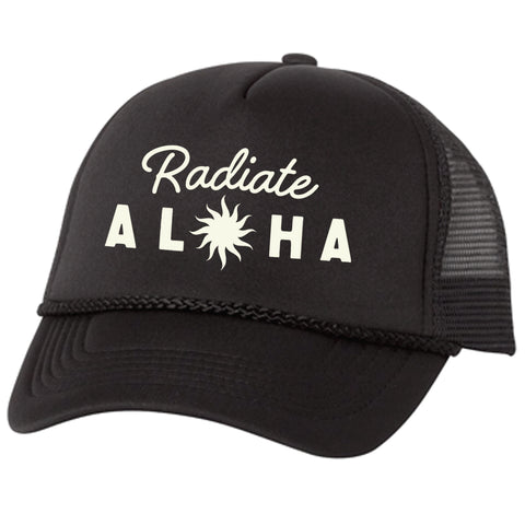 RADIATE Black Adult Trucker