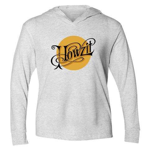 HOWZIT SUN White Heather Hooded Tee