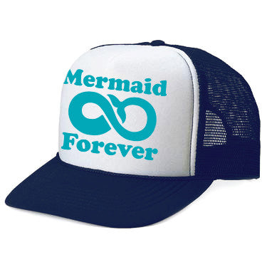 MERMAID 4EVER Navy Adult Trucker