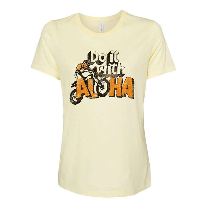MOTOLOHA Custom Womens Relaxed Tee