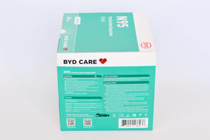 BYD Care N95 Particulate Respirator DE2322 (Box of 20)