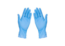 Load image into Gallery viewer, Blue Nitrile Gloves M/L/XL