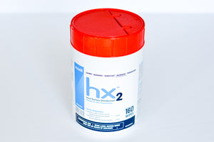 Maxill HX2 Hard Surface Disinfectant Wipes  (6 tubs x 160 wipe/tub)