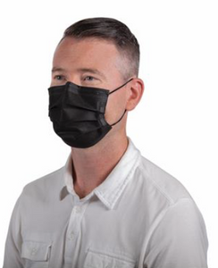 Black Non-Medical Mask (Box of 50)
