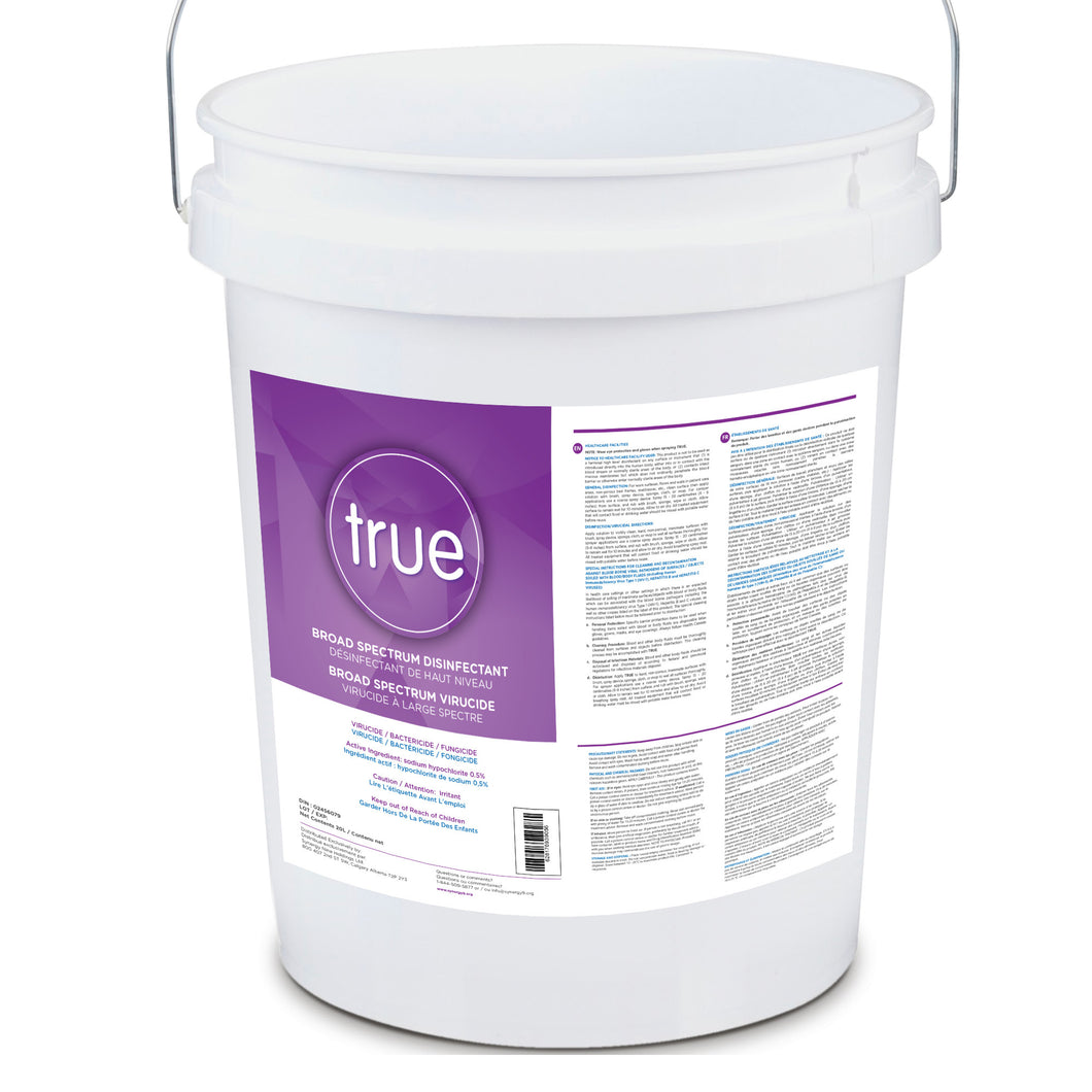 TRUE Sanitizer/Disinfectant (20L pail)