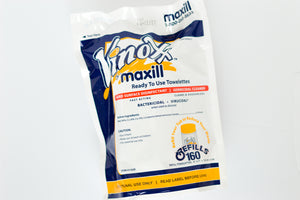 Maxill VINOXX Specialty Disinfectant Wipe REFILL(6 pkg x 160 wipes/pkg) 50% OFF