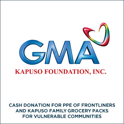 OPERATION BAYANIHAN: LABANAN ANG COVID-19 BY GMA KAPUSO FOUNDATION