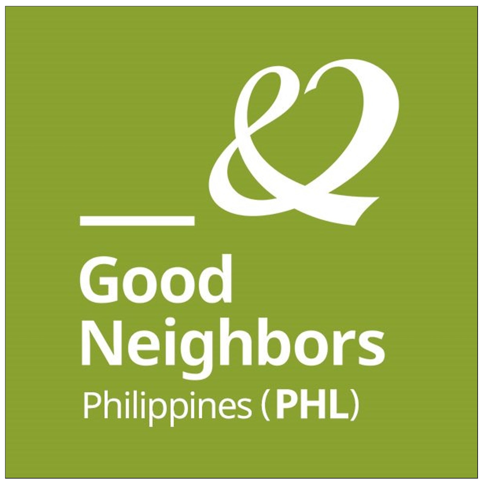 GOOD NEIGHBORS PHILIPPINES for Typhoon relief