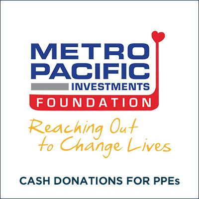 METRO PACIFIC INVESTMENTS FOUNDATION for COVID-19
