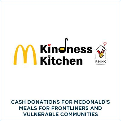 RONALD MCDONALD HOUSE CHARITIES OF THE PHILIPPINES for COVID-19