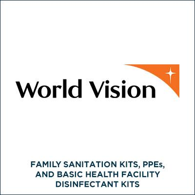 WORLD VISION for COVID-19
