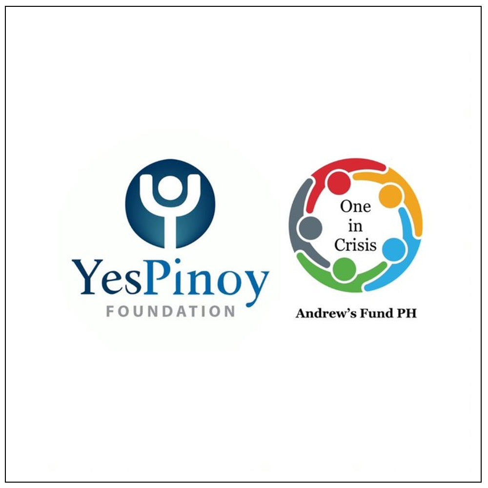 YESPINOY FOUNDATION for Typhoon relief