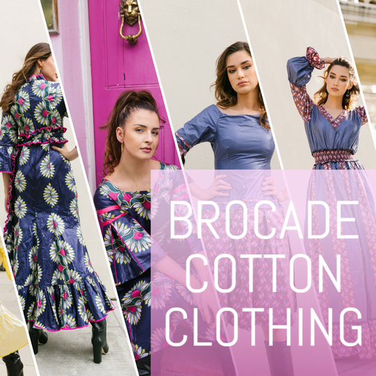 Brocade cotton clothing - Wasulu London
