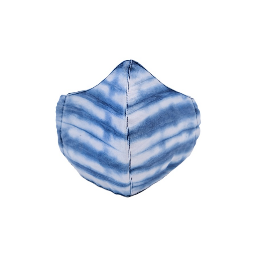 Tie-dye Cotton Face Mask - Wasulu London