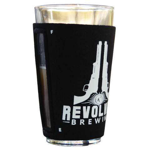Revolver Pint Glass Neoprene Koozie set of 4