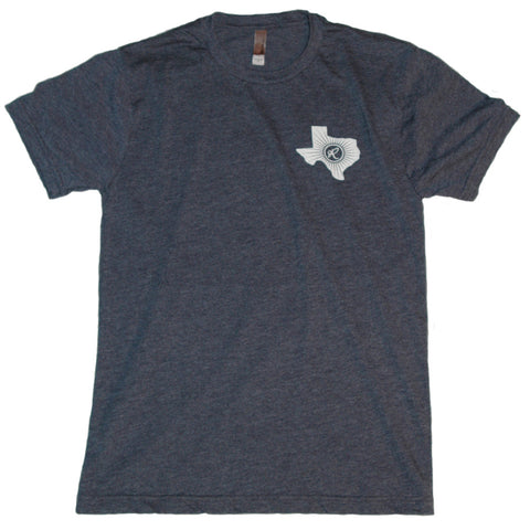 Men's Blue Short Sleeve T-Shirt