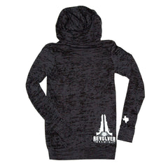 Ladies Burn-out Hoodie