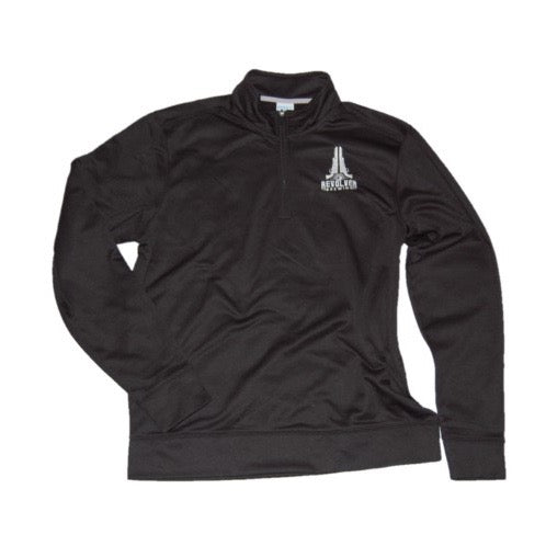 Sweatshirt Black Quarter Zip
