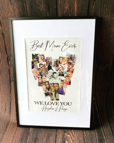 Mother's Day or Father's Day frame