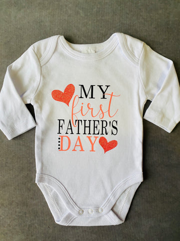 Fathers Day Day Onesie Long Sleeves