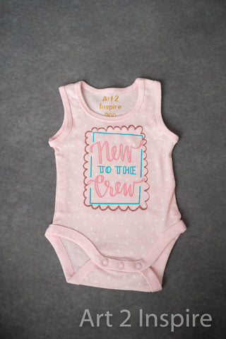 Patterned Onesies For personalising