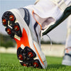 SKYDRIVE 101S Men Cricket Shoes Navy Orange Color
