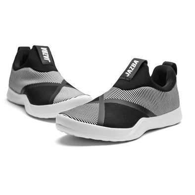 Safar Men Shoes - White Black