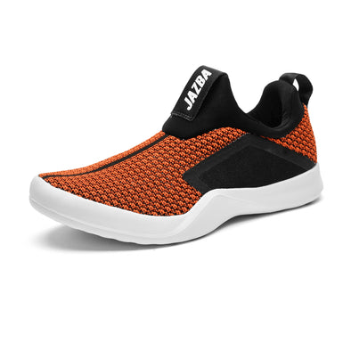 Pehchan Men Shoes - Orange Black